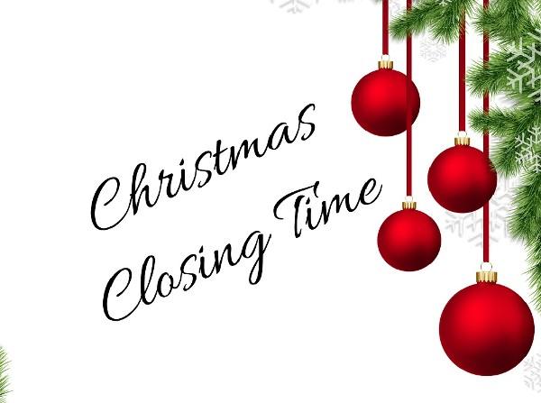 Christmas Closing Time