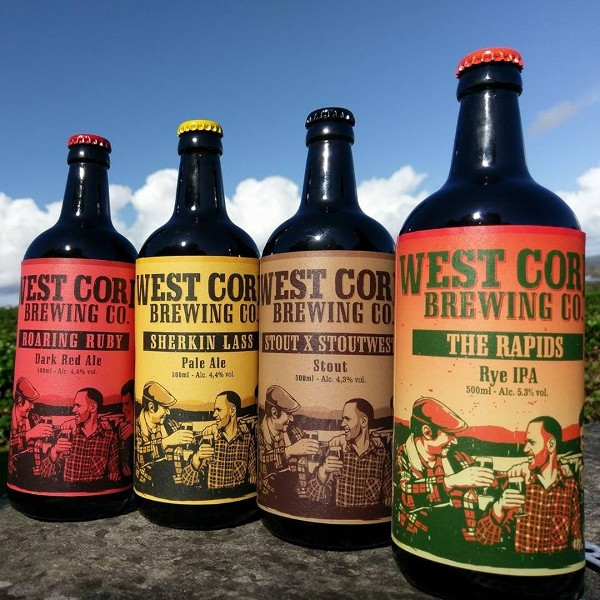 West Cork Brewery Event Fridays at 4pm. Bookings Only